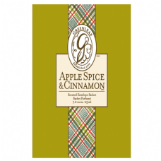 Greenleaf & Bridgwater APPLE SPICE & CINNAMON  Large Scented Envelope Sachet